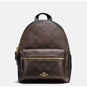Coach Mini Charlie Signature Backpack NEW $295